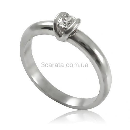 Золоте кільце на заручини з діамантом 0.09 «Сусанна» 7011463f5274d