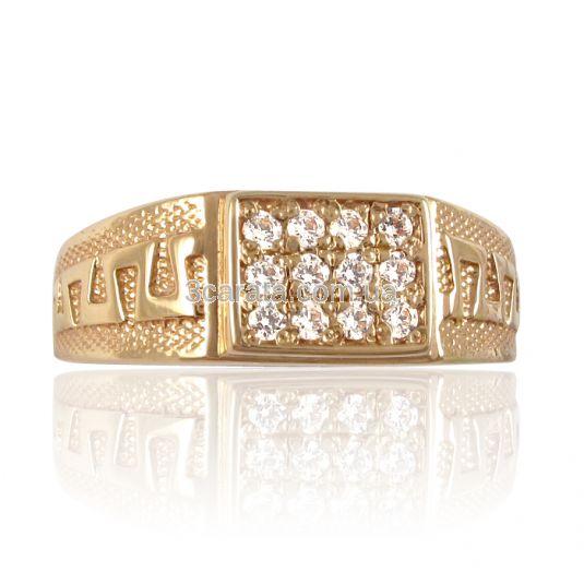 Золотой перстень мужчине недорого