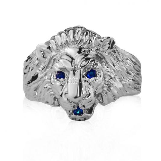 Золотий перстень з сапфірами «Золотий лев»