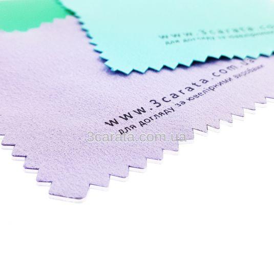 Серветка для чищення та полірування ювелірних виробів