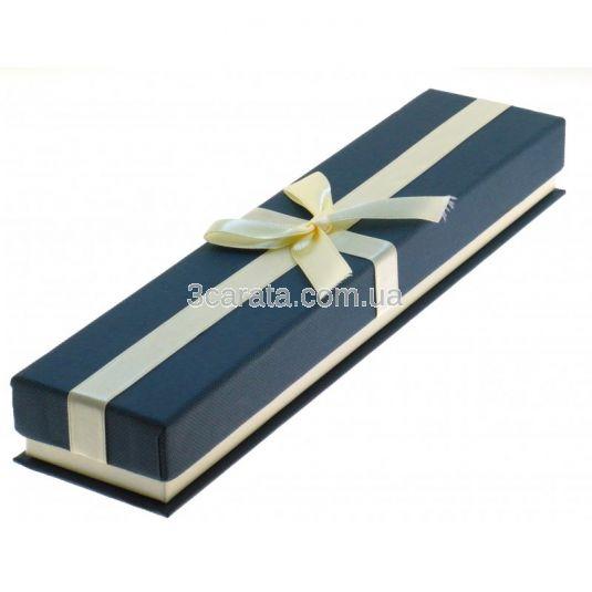 Футляр подарунковий з бантом для браслета або ланцюжка