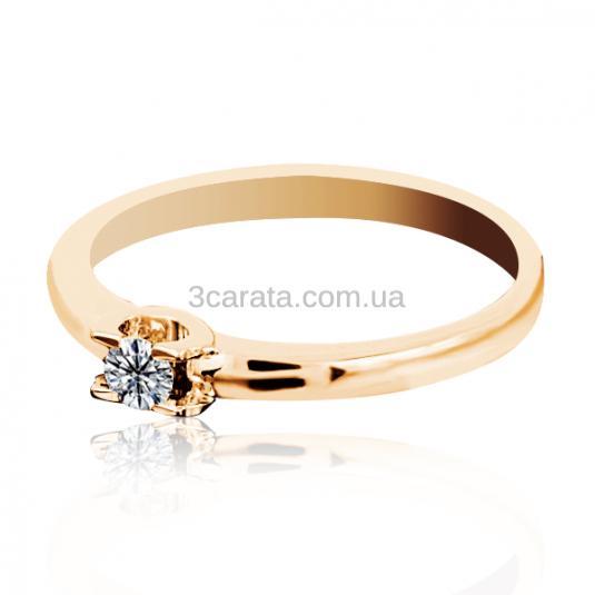 Заручальне кольцо з діамантом