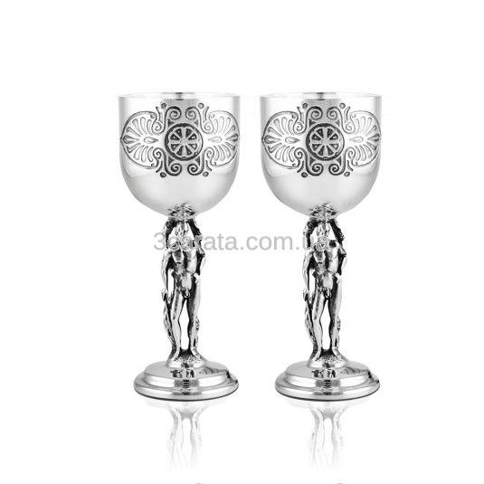 Срібна чарка для вина «Грецька»