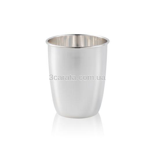 Набір з двох срібних стаканів «Feast»