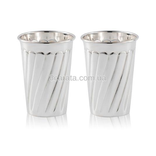 Класичний срібний стакан «Gladness»