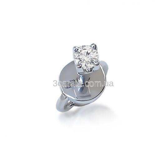 Одна золота сережка гвоздик у вухо з діамантом «One» f76767073205f