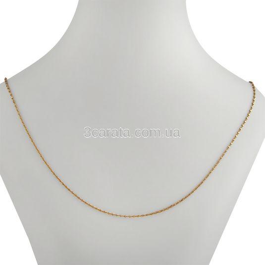 Золотий ланцюжок з алмазним огранюванням «Сатурн»