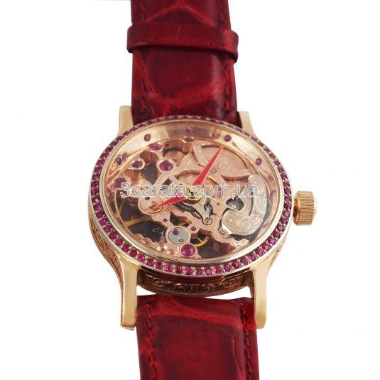 Золотий годинник з рубінами «Восторг» 448f501ab584b