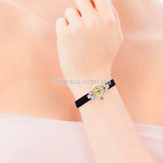 Золотий жіночий годинник з японським механізмом «Daffodil»