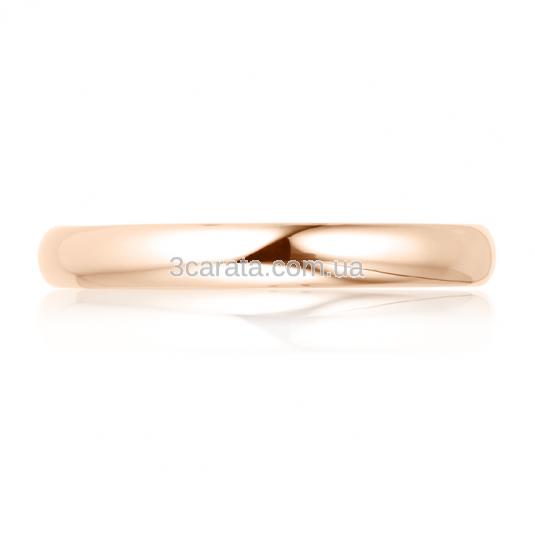 Золотое обручальное кольцо «Bond of love»