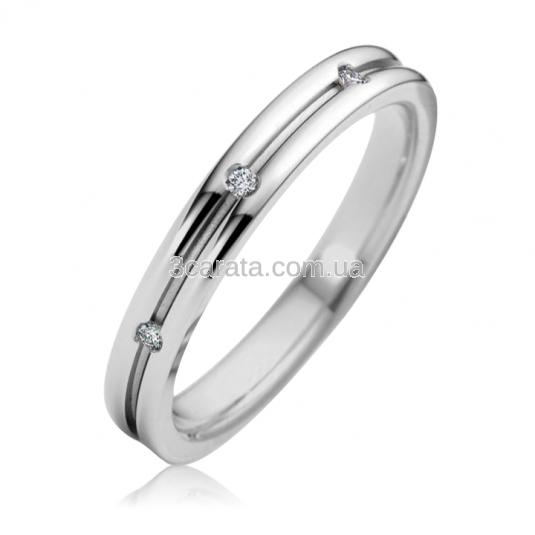 Обручальное кольцо с куб.цирконием «Best day»