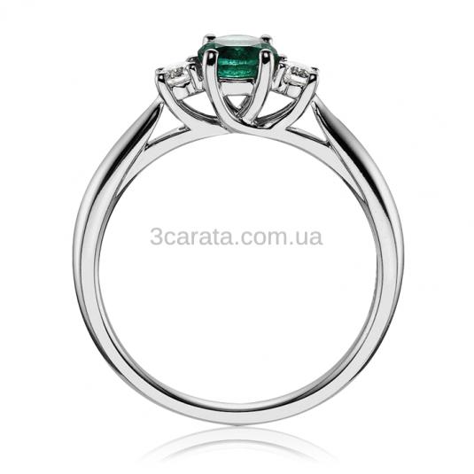 Золотое кольцо с изумрудом «Magic tenderness»