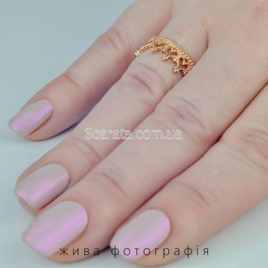 Женское кольцо из золота «Корона Версаля»