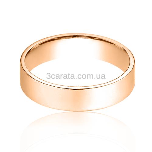 Золотое обручальное кольцо «Radiant love»