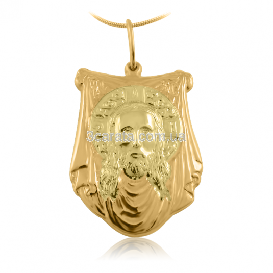 Золотая ладанка «Лик Божий»