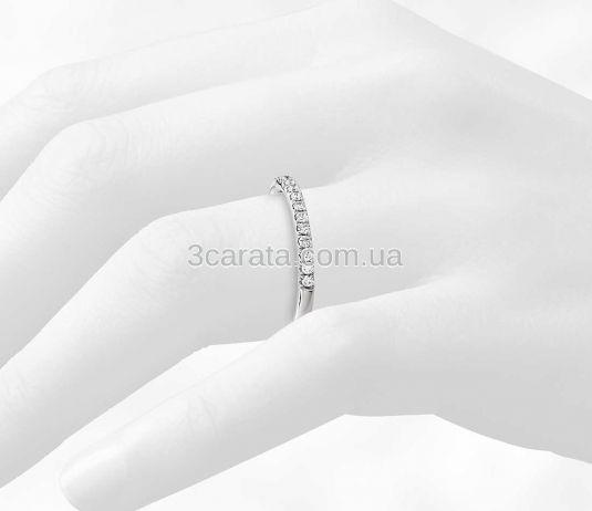 Свадебное кольцо с бриллиантами «Unique»