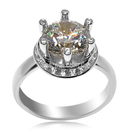48119546b65c Эксклюзивное кольцо с крупным камнем «Секрет королевы»