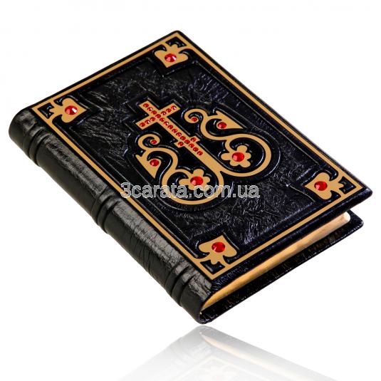 Инкрустированная библия с кристаллами мини