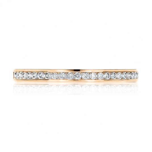 Золотое кольцо с цирконием «Bernardo»
