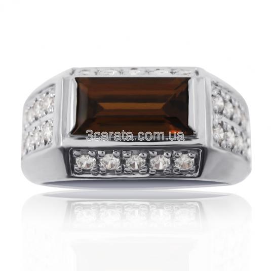 Купить мужской перстень кварц