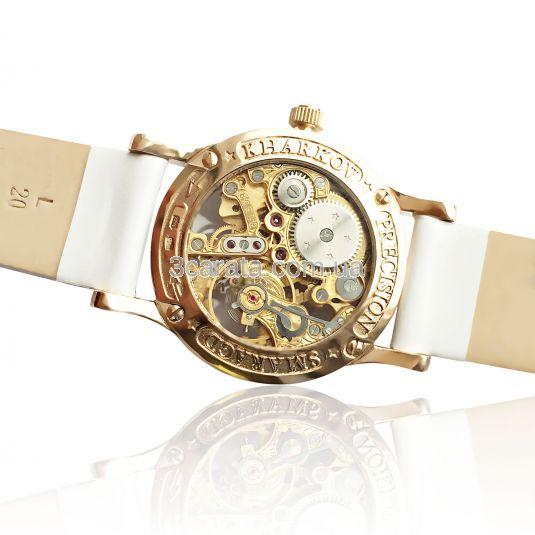 Золотые часы женские «Lady Skeleton»