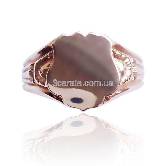 Золотой перстень без камней