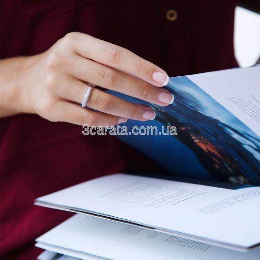 Кольцо золотое с бриллиантами «Ирена»