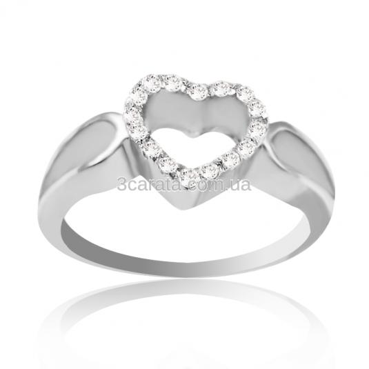Золотое кольцо с цирконом Swarovski «Valentina» da3d7e57c1f1a