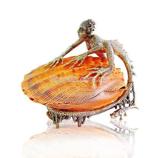 Серебряная шкатулка «Жемчужница»