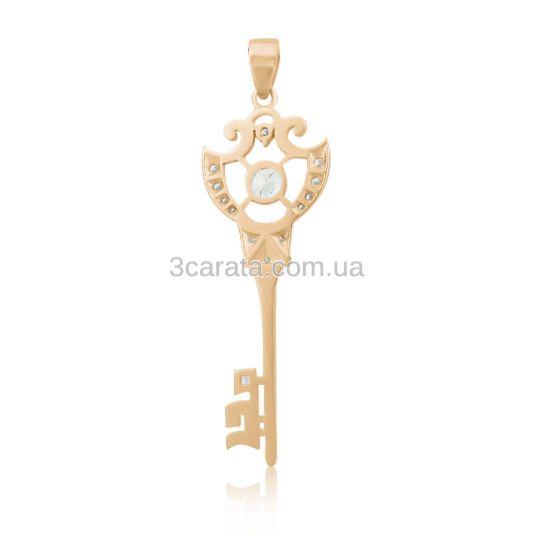 Эксклюзивная бриллиантовая подвеска-ключ «Diamond key»