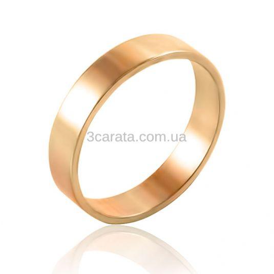 Золотое обручальное кольцо «Американка» c751243acbcf2
