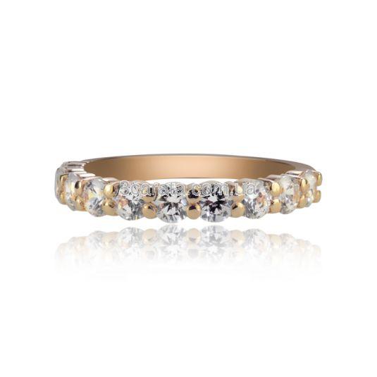 Золотое кольцо дорожка с Сваровски «Восторг»