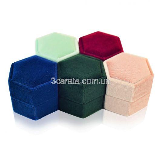 Шестигранная коробочка для помолвочного кольца «Velvet»