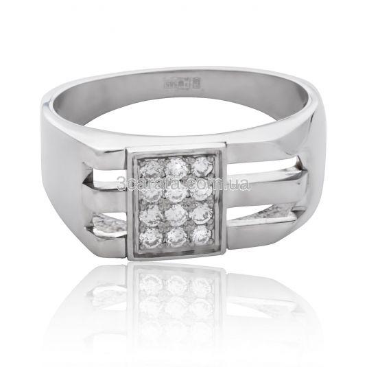 Золотой перстень с бриллиантами «Идеалист» 50acca45ea7