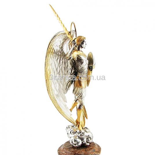 Серебряная статуэтка «Архангел Михаил»