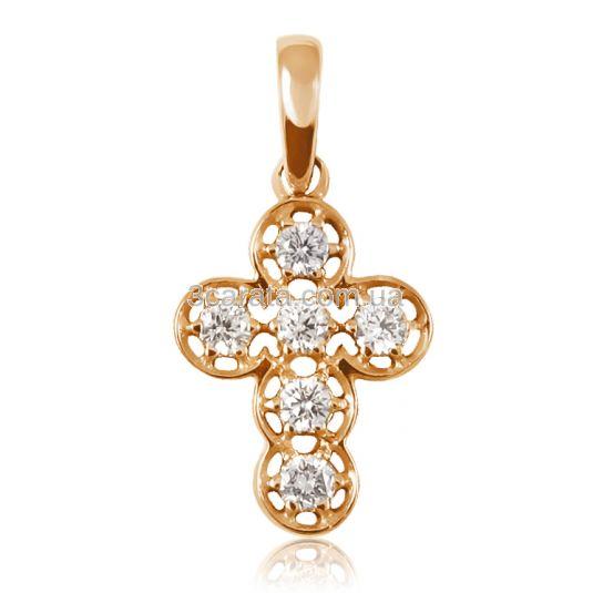 Золотой кулон с бриллиантами «Оберег»