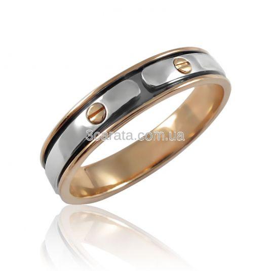 Золотое кольцо без камней «Baron»