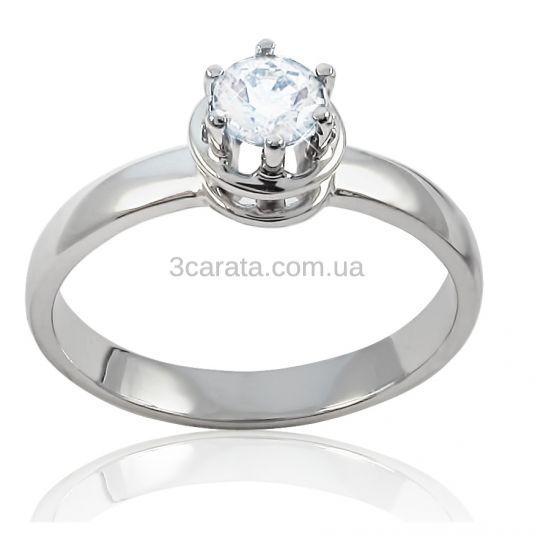 Золотое кольцо с бриллиантом весом 0,5 карата «Кай и Герда» d9e0845270f