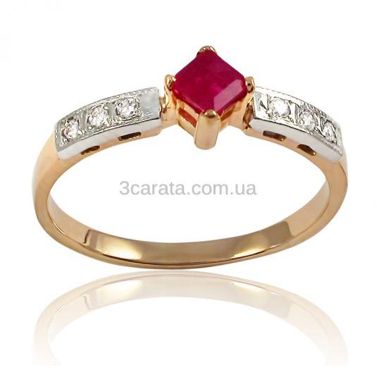 Золотое кольцо «Пламя»