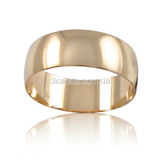 Золотое обручальное кольцо купить