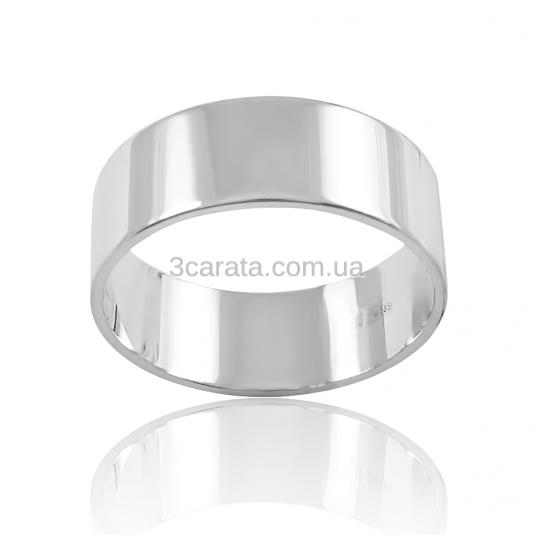 Золотое обручальное кольцо «Американка широкая»