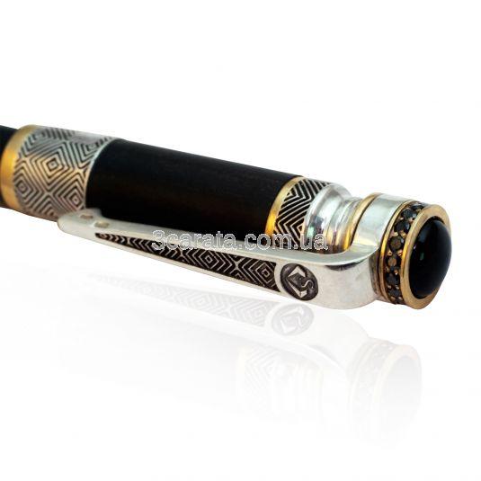 Ручка из эбенового дерева  « Дорогая канцелярия»