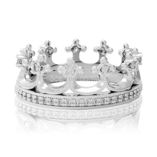 Обручальное кольцо-корона «Моя принцесса»