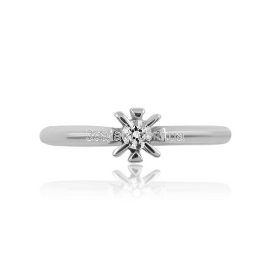 Помолвочное кольцо с бриллиантом «Капля росы»