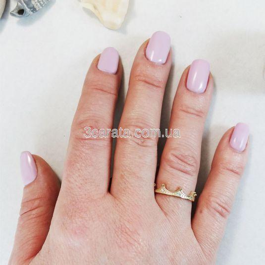 Золотое кольцо для принцессы «Корона»