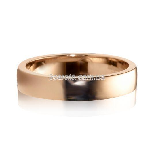 Aмериканка обручальное кольцо гладкое