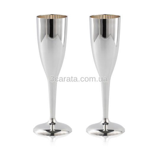 Серебряный бокал для шампанского «Sauvignon»