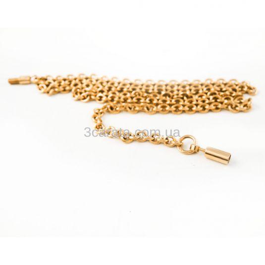 Золотая цепочка с якорным плетением «Берн»
