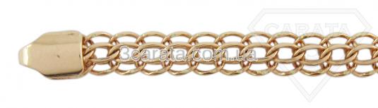 Золотая цепь венецианского плетения «Венеция»