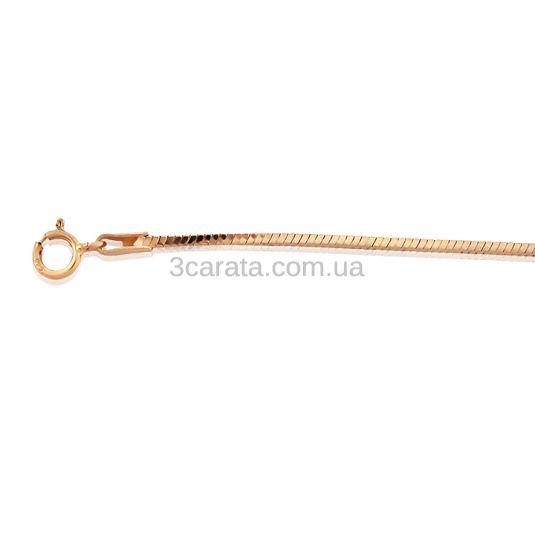 Золотая цепочка «Снейк классический»